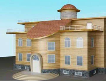 Технология строительства дом Бернштейна