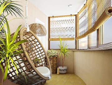 Ремонт балкона: основные работы