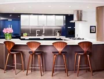 Барные стулья: как выбрать качественный вариант для кухни?