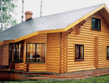 Тонкости строительства домов из оцилиндрованного бревна