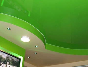 Причины установки натяжных потолков