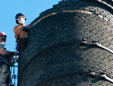 Демонтаж труб и башен