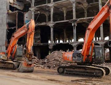 Основные методы демонтажа зданий и сооружений