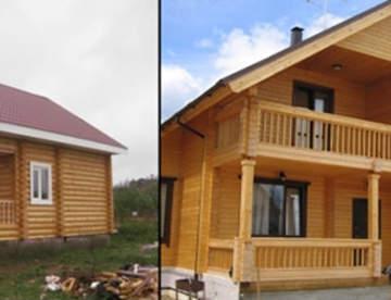 Что нужно знать про дачные дома из бруса?