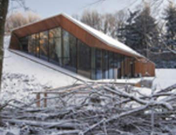Голландский дом в холме