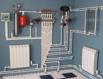 Особенности водяного отопления для загородного дома