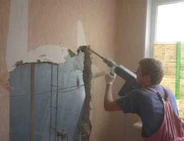 Рекомендации по демонтажу стен
