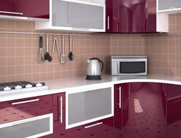 Из чего делают кухонные фасады