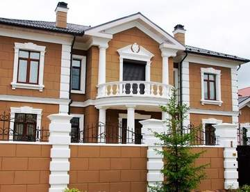 Основные достоинства фасадного декора из пенопласта