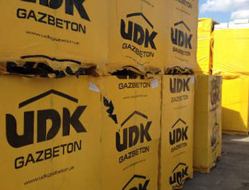 Газоблок UDK наиболее экологический строительный материал ХХІ века