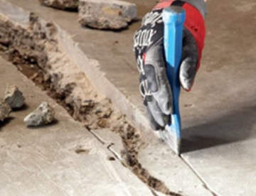 Ремонт старого пола из бетона: от мелкого до капитального