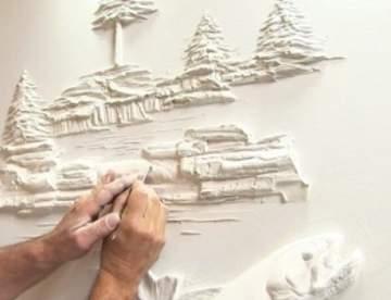 Лепнина и барельефы на стены: материалы, виды, технология, для начинающих и посложнее