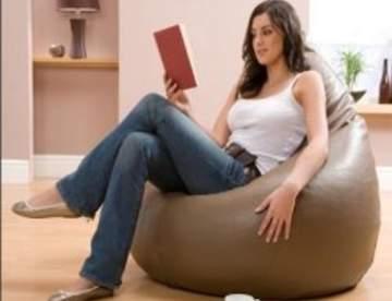Бескаркасная мягкая мебель в интерьере
