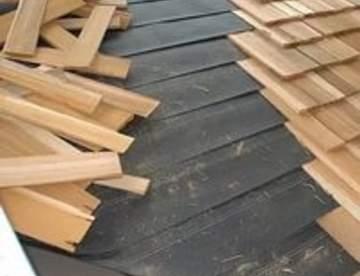 Ремонт деревянной крыши