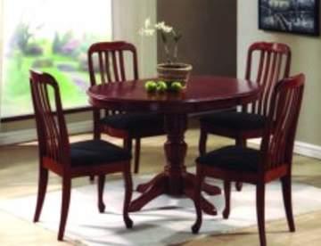 Столы и стулья как предметы кухонного интерьера