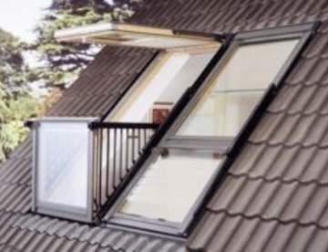 Мансардные окна от компании Еврокровля