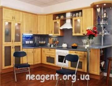 Выбор материала для кухонной мебели