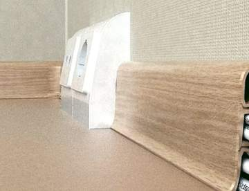 Установка, монтаж пластикового плинтуса ПВХ своими руками Пошаговое фото