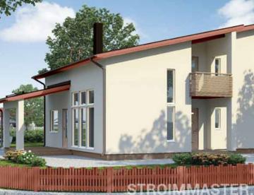 Дизайн крыши частного дома