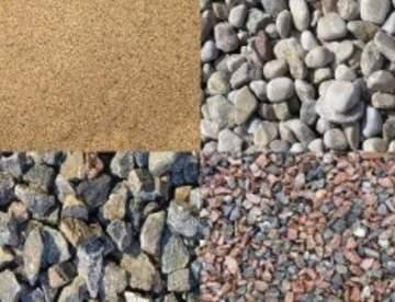 Песок и щебень для строительства