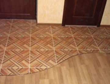 Пол в коридоре: обзор подходящих покрытий для прихожей