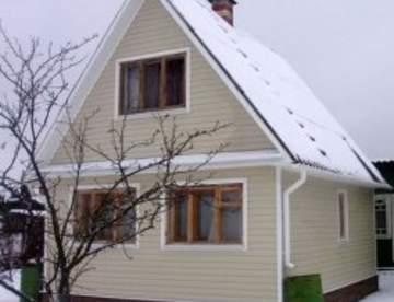 Cайдинг для наружной отделки домов