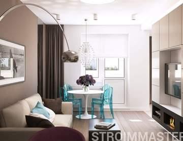 Домашний интерьер зала