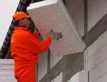 Технология утепления стен с улицы: варианты, схемы, монтаж