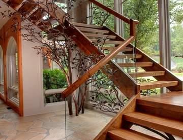 Виды лестниц из дерева