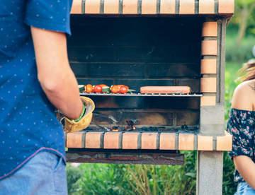 Выгодная инвестиция в барбекю из кирпича