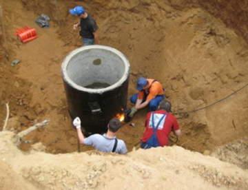Как провести водопровод и установить септик на даче