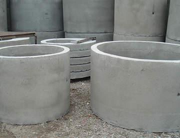 Применение бетонных колец