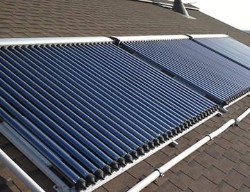 Солнечный коллектор поможет сократить расходы на отопление помещения
