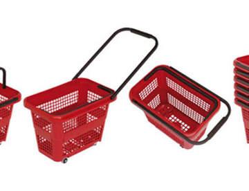 Покупательские корзины: характеристики и назначение