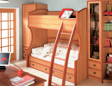 Преимущества детских кроватей из дерева