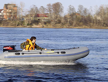 Особенности лодок ПВХ