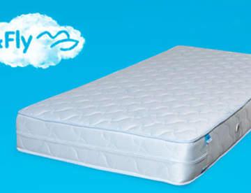 Особенности пружинных матрасов Sleep&Fly