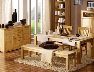 Мебель из массива: роскошь и представительность дизайна