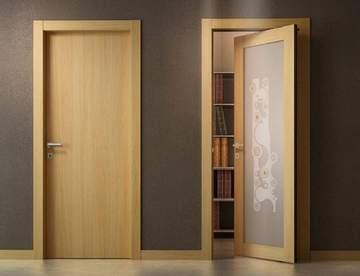 Разновидности межкомнатных дверей по конструкции