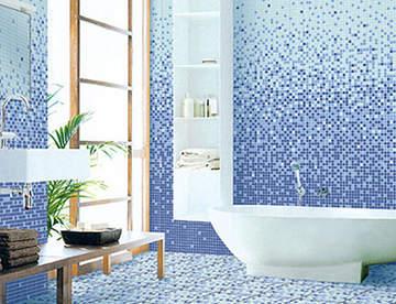 Особенности применения мозаики для отделки ванной