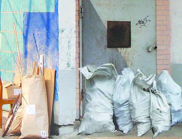 Проблема вывоза строительного мусора