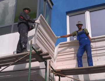 Специфика декорирования фасадов