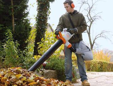 Садовый пылесос: основное предназначение