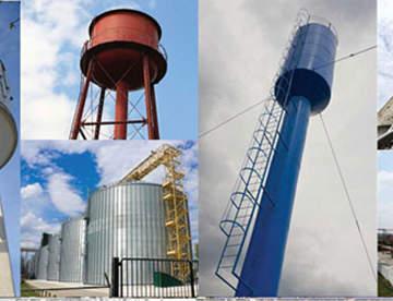 Как правильно произвести монтаж резервуарных конструкций