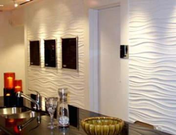 Ремонт стен с помощью декоративной штукатурки