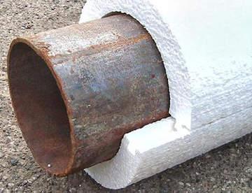 Скорлупа ППС – современный способ утеплить трубопровод
