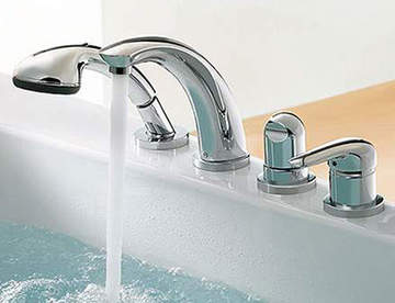 Виды смесителей для ванной комнаты