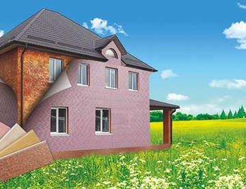 Современное решение: фасадные панели стенолит