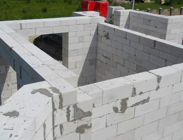 Газосиликатные блоки для строительства домов