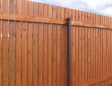 Деревянный забор: дешево, но не сердито